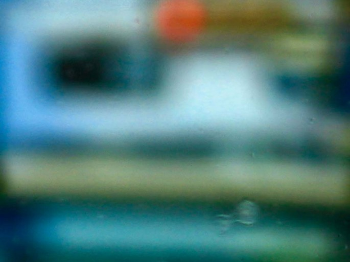 Coloured City series, green, blue, muted, shapes abstract, abstract expressionism, colour photography, street scape, blur,