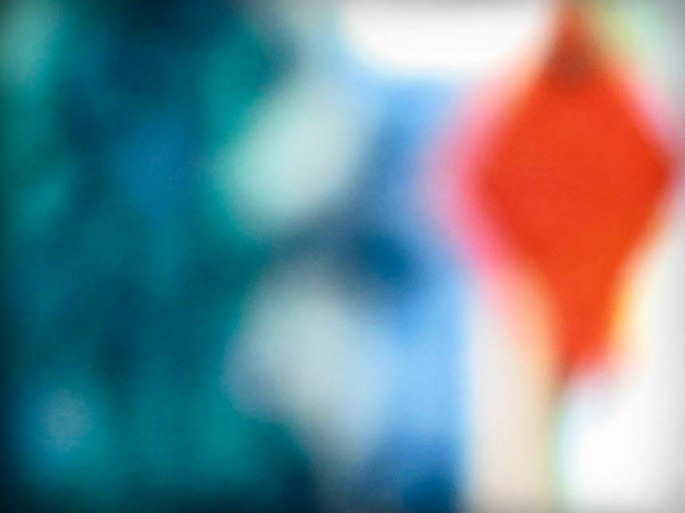 Coloured City series, green, red, vibrant, shapes abstract, abstract expressionism, colour photography, street scape, blur,