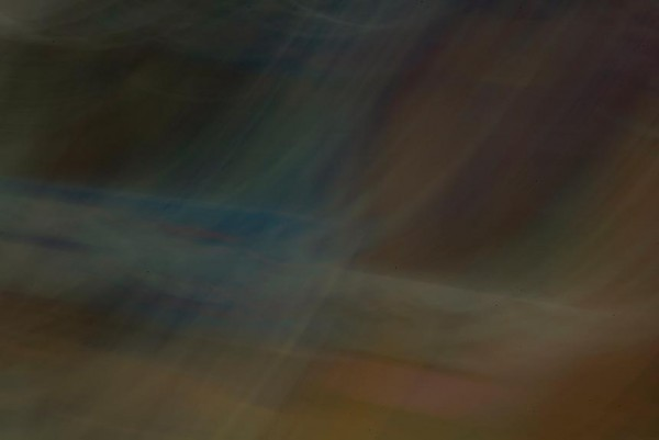 Light Signatures series, day, colour photograph, art, abstract, abstract expressionism, creative, city street, urban, downtown, cityscape, speed, blur, movement, motion, blue, muted, streaks, patterns