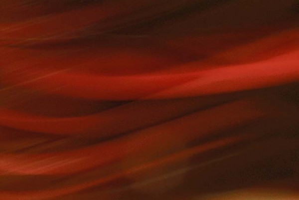 Light Signatures series, day, colour photograph, art, abstract, abstract expressionism, creative, city street, urban, downtown, cityscape, speed, blur, movement, motion, red, muted, streaks, patterns