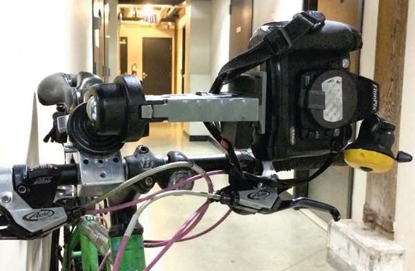 bike camera rig, 2014 by william oldacre - Convergent Series